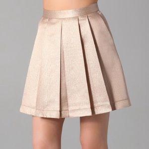 Club Mónaco silk skirt